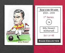 Motherwell Billy Stewart 34 (FC) (R)